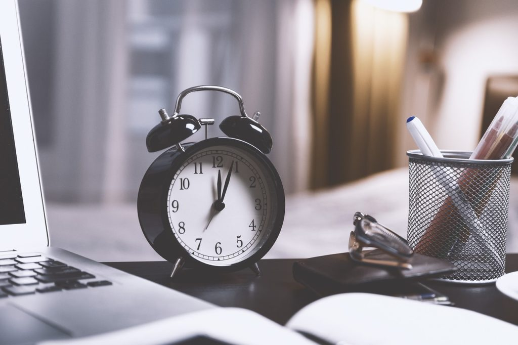 Job search and recruitment tips for managing time